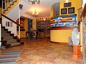 Hotel Helena Inn Puno Recepcion