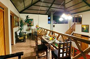 Hotel La Cabaña Comedor