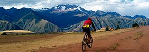 Ciclismo en Sacsayhuaman