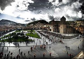 Ciudad de Cusco Plaza de Armas