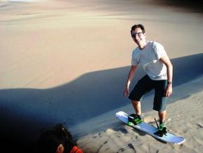Sandbording Huacachina Ica